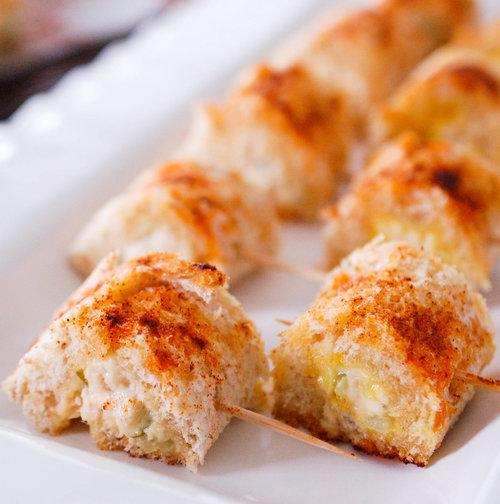 Tuna Pinwheels Recipe