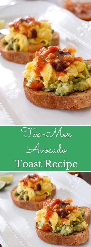 Tex-Mex Avocado Toast Recipe