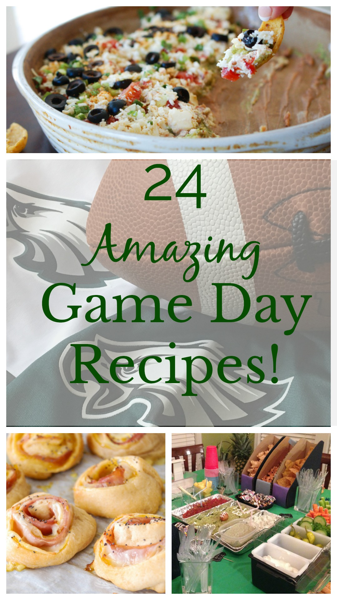 Recipe Roundup- 24 Amazing Game Day Recipes!