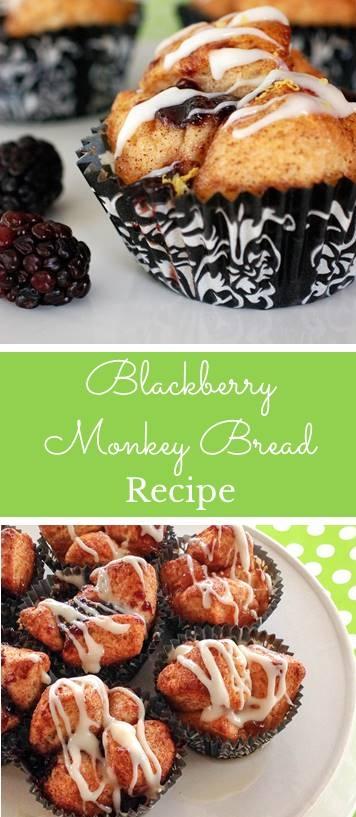 Blackberry Monkey Bread Muffin Recipe