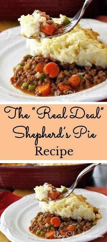 "The ""Real Deal"" Shepherd's Pie Recipe"