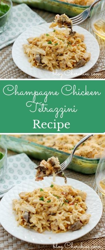 Champagne Chicken Tetrazzini Recipe
