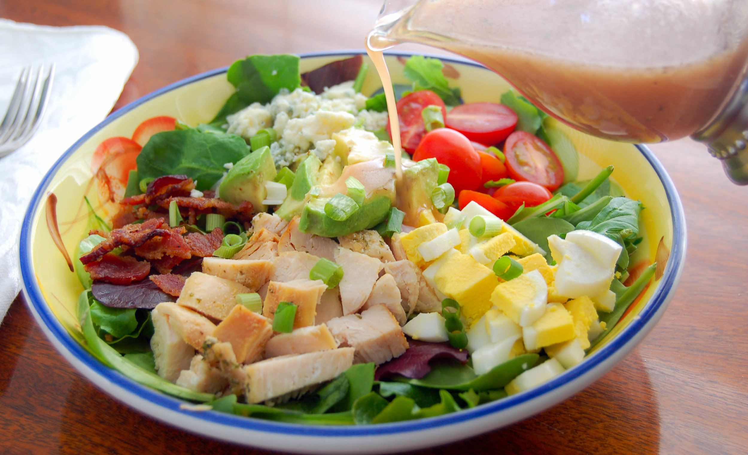 Cobb Salad With Brown Derby Dressing Recipe