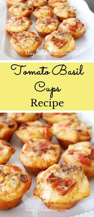 Tomato Basil Cups Recipe