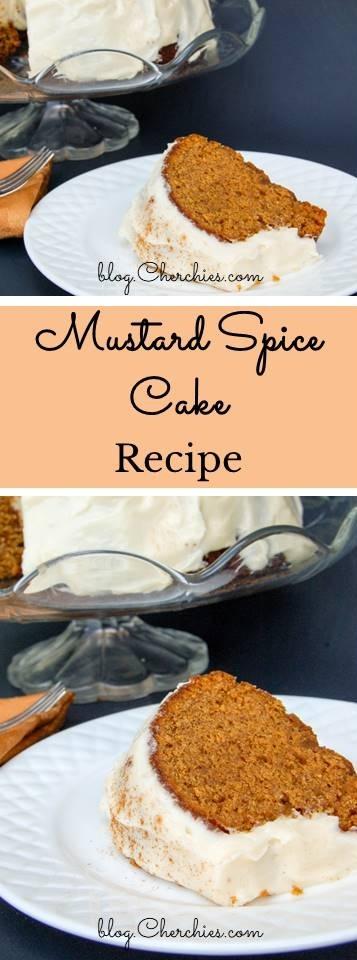 Mustard Spice Cake Recipe