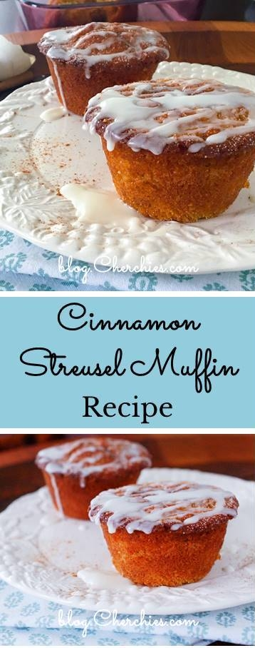 Cinnamon Streusel Muffin Recipe