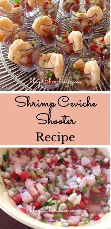 Shrimp Ceviche Shooter Recipe
