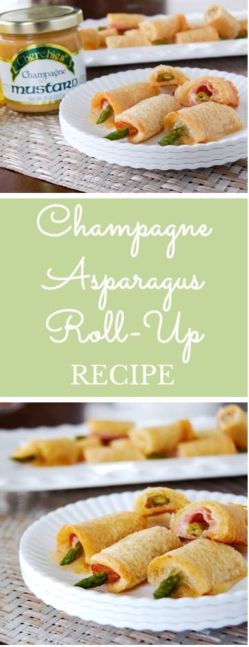 Champagne Asparagus Roll-Ups Recipe