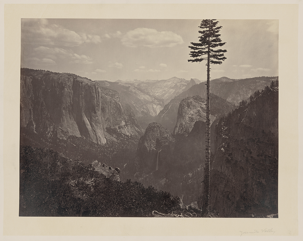 Carleton Watkins - The most general view of Yosemite valley.jpg
