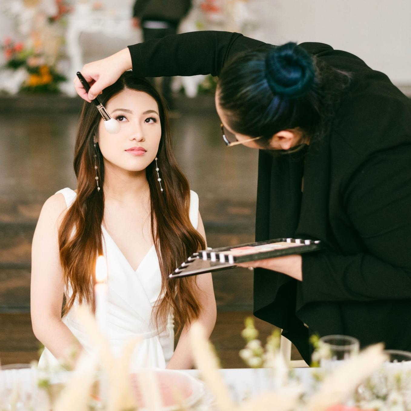 Asian Bridal Natural Makeup and Hair