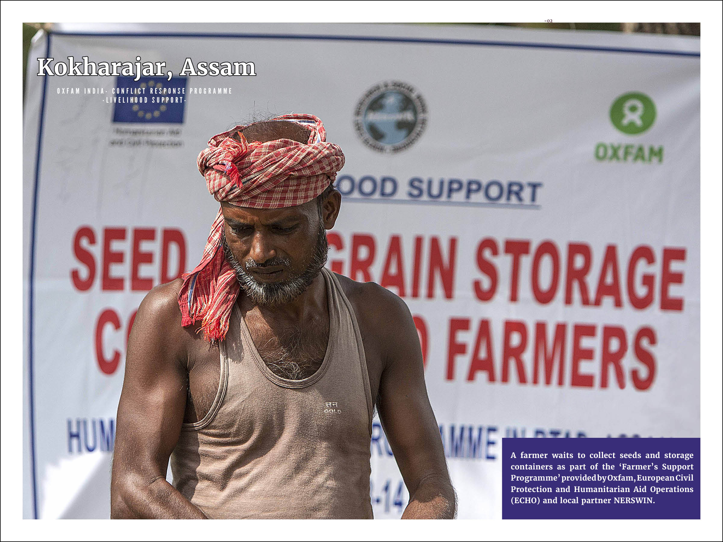 Oxfam India - Conflict Response Programme - Livelihood Support