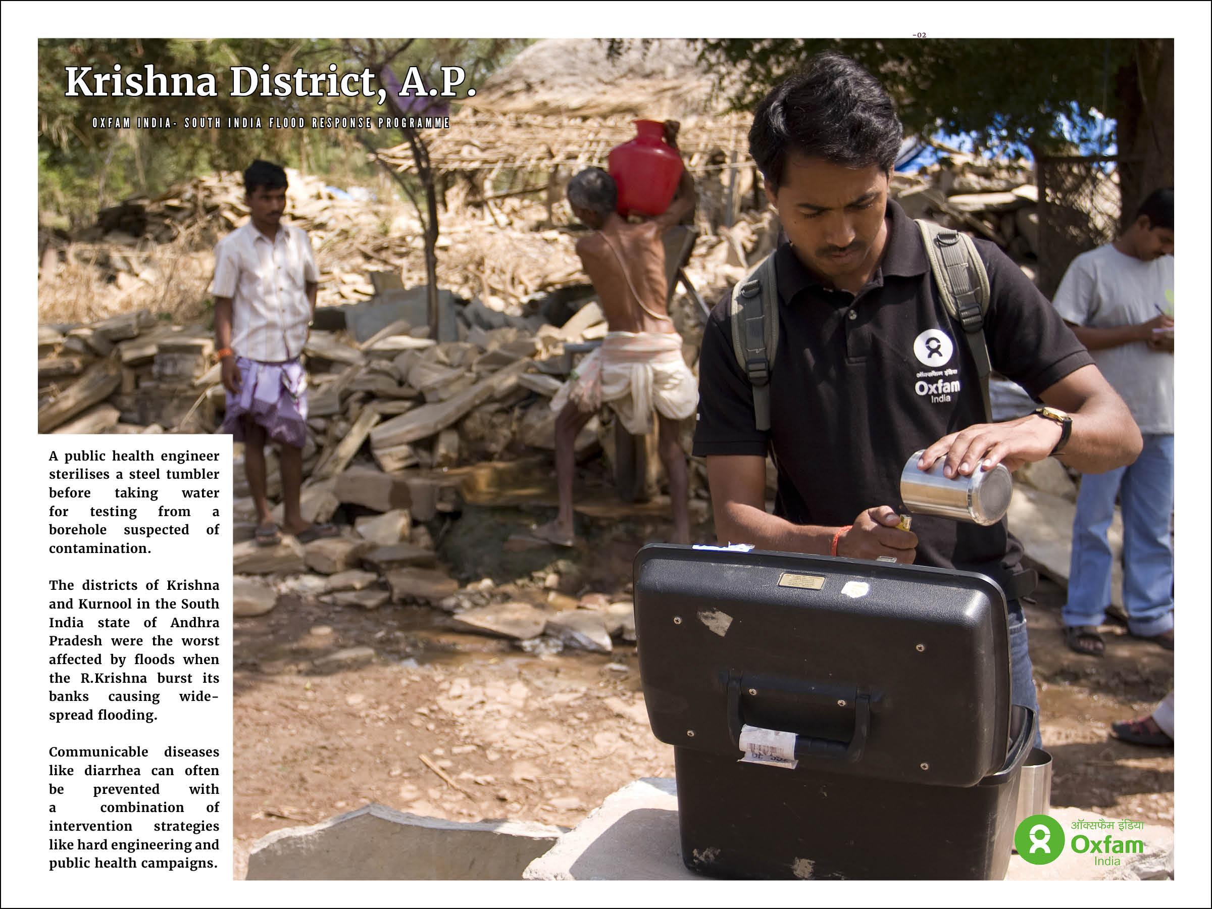 Oxfam India: South India Flood Response Programme