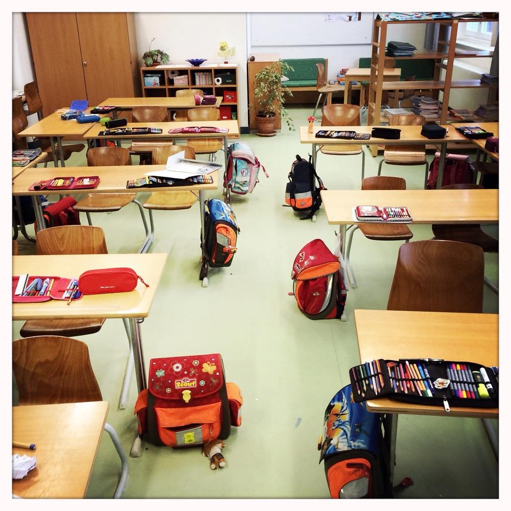 Klassenzimmer 4b Gebeleschule