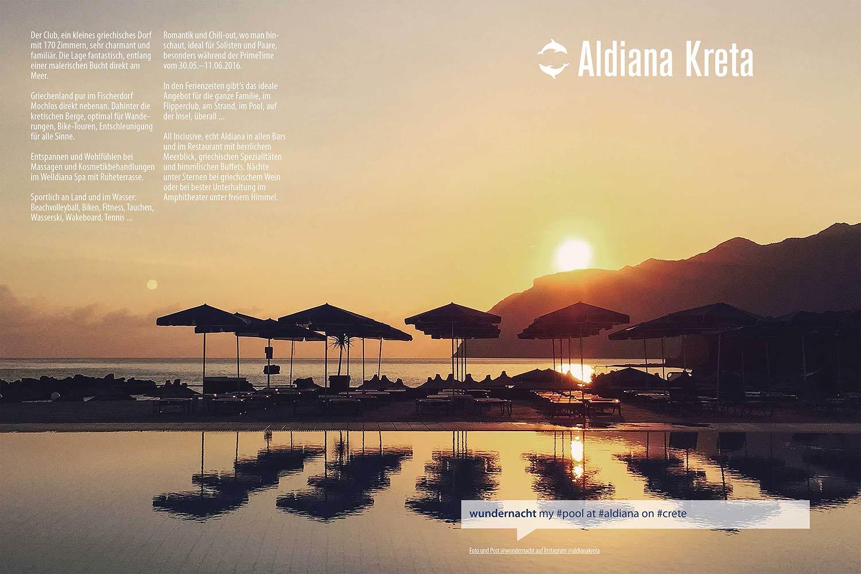 Kreta Echt Aldiana Katalog Sommer 2016 Instagram