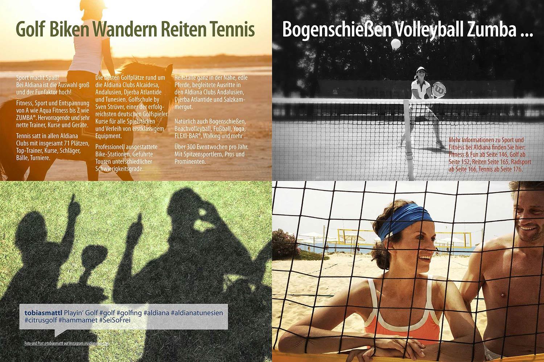 Sport Echt Aldiana Katalog Sommer 2016 Instagram