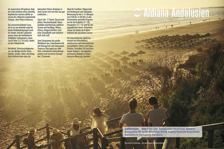 Andalusien Echt Aldiana Katalog Sommer 2016 Instagram