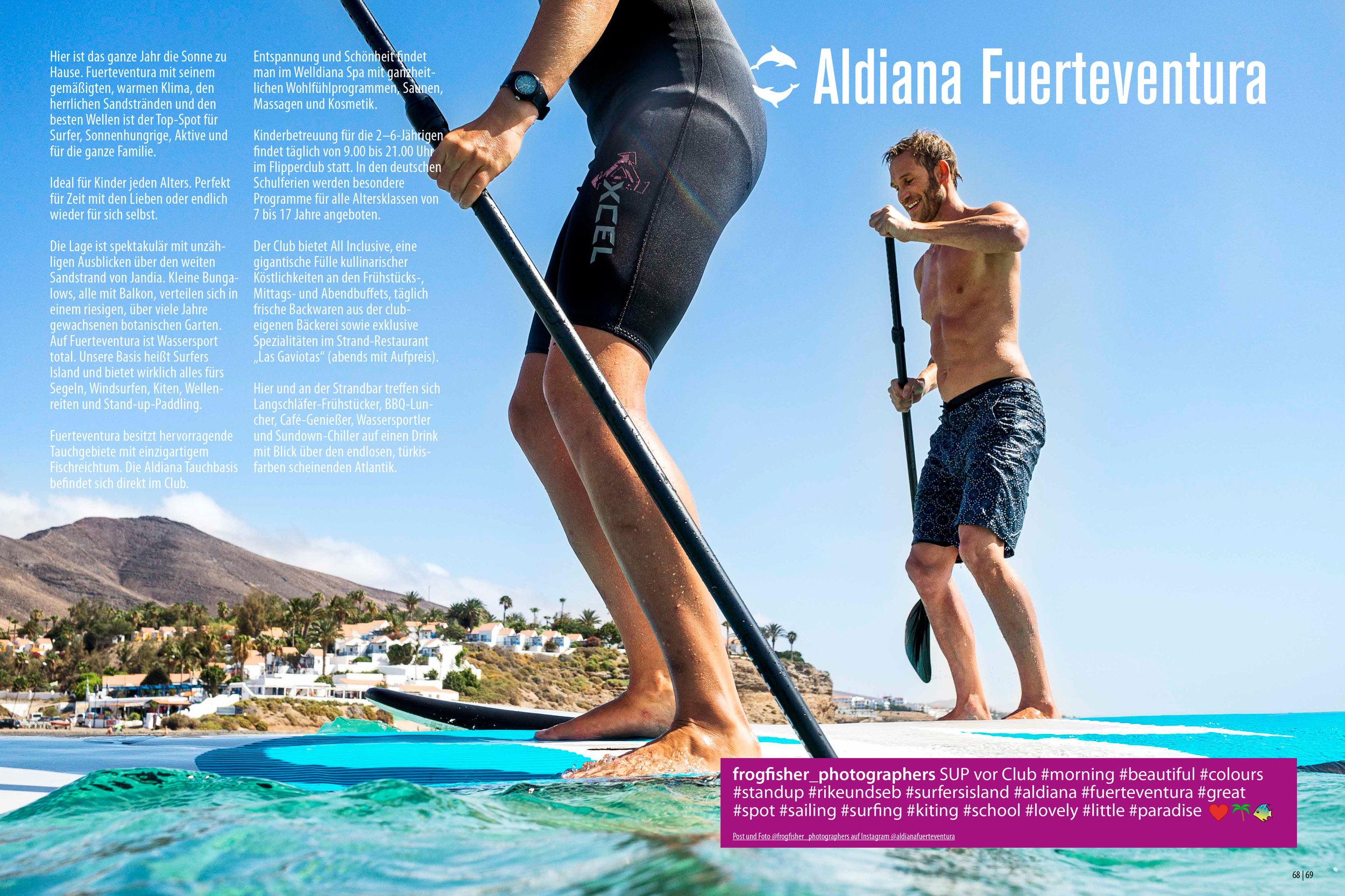 Aldiana Katalog Sommer 2017 Club Fuerteventura