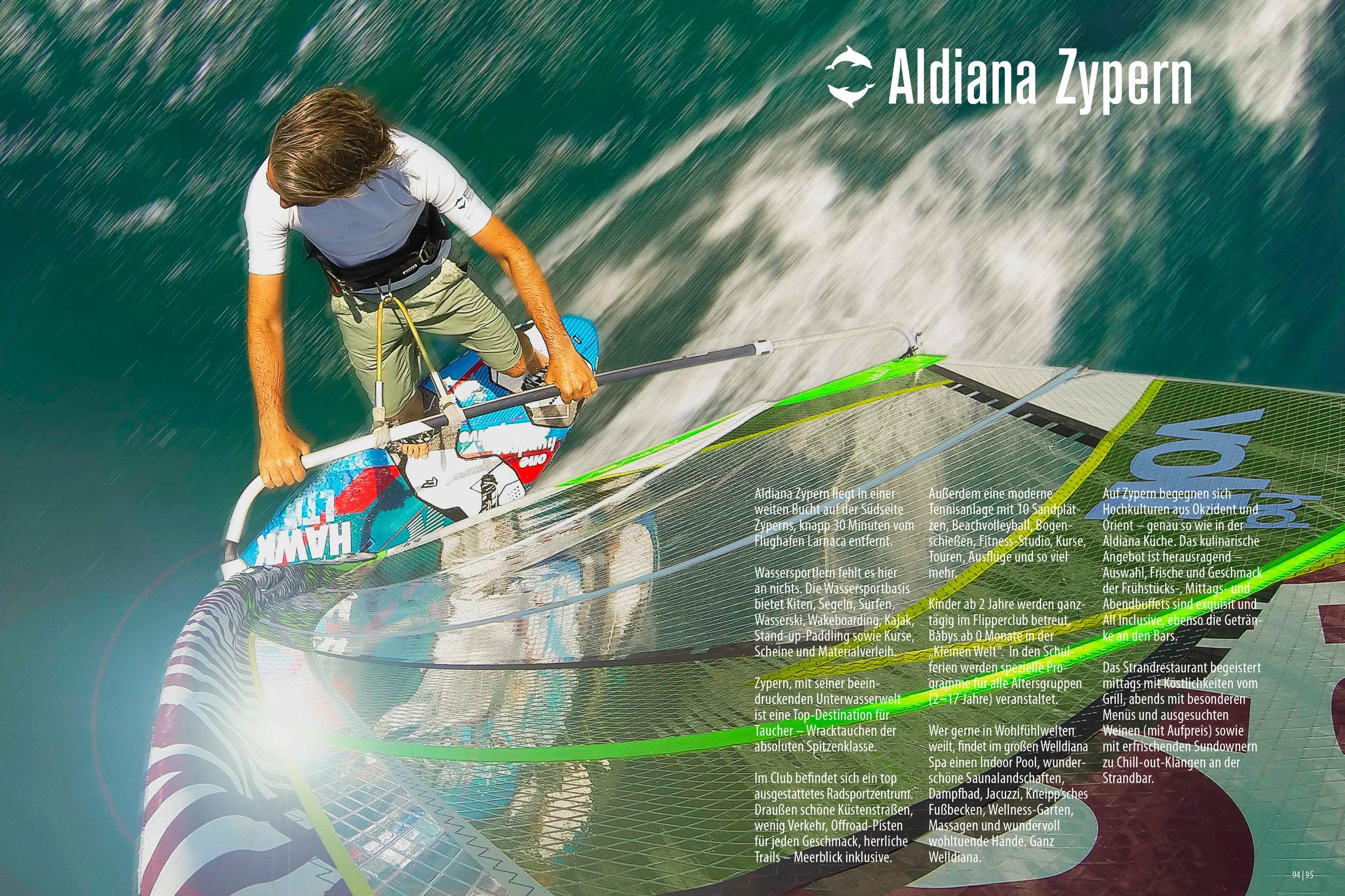 Aldiana Katalog Sommer 2017 Club Zypern