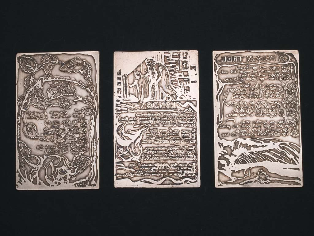 William Blake Relief-Etched Copper Plates