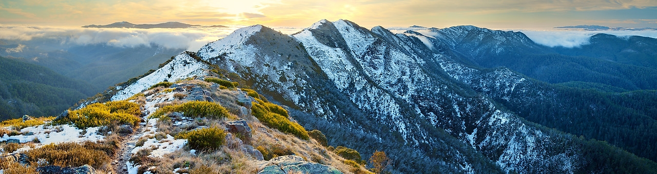 Alpine National Park, Victoria - an important catchment area and one of my favourite places to go bushwalking.