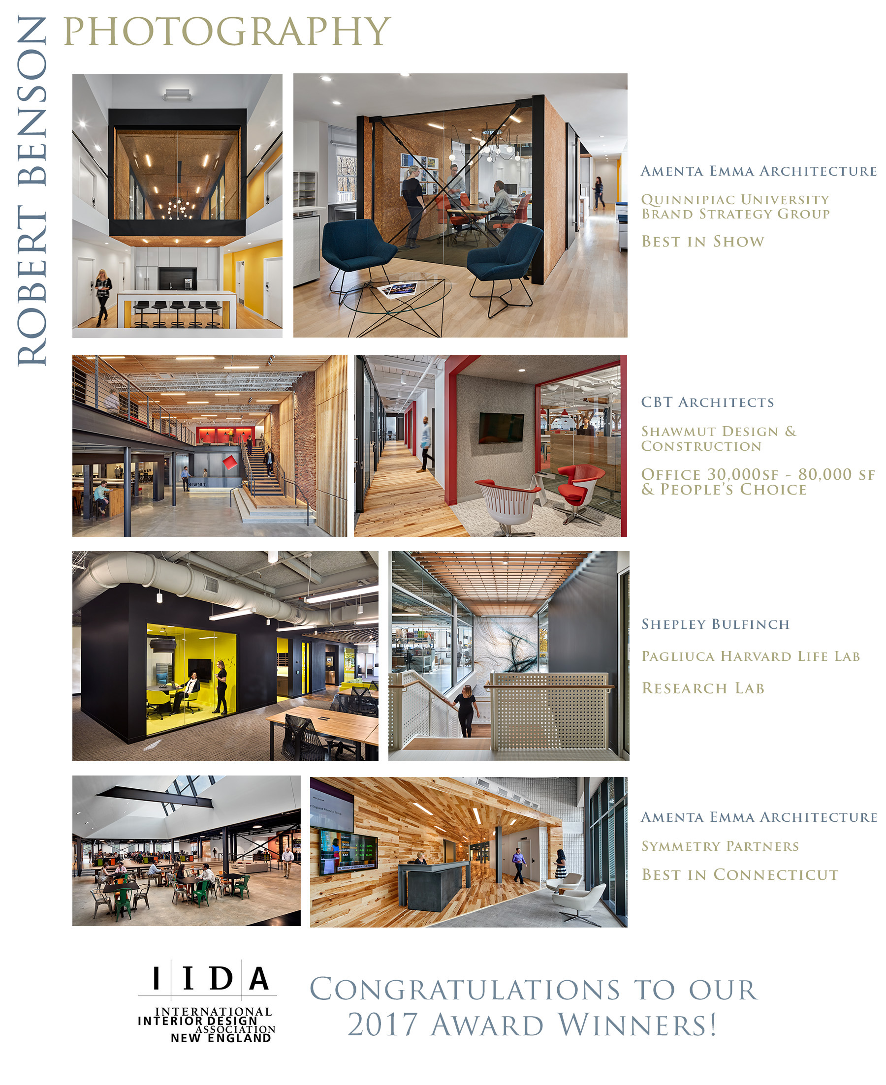 2017 IIDA Award Winners