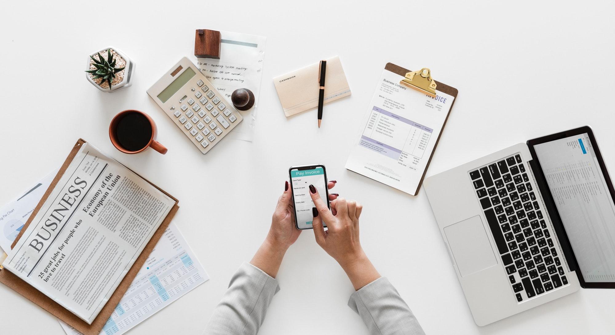 Pare de perder tempo procurando as informações de sua empresa. -