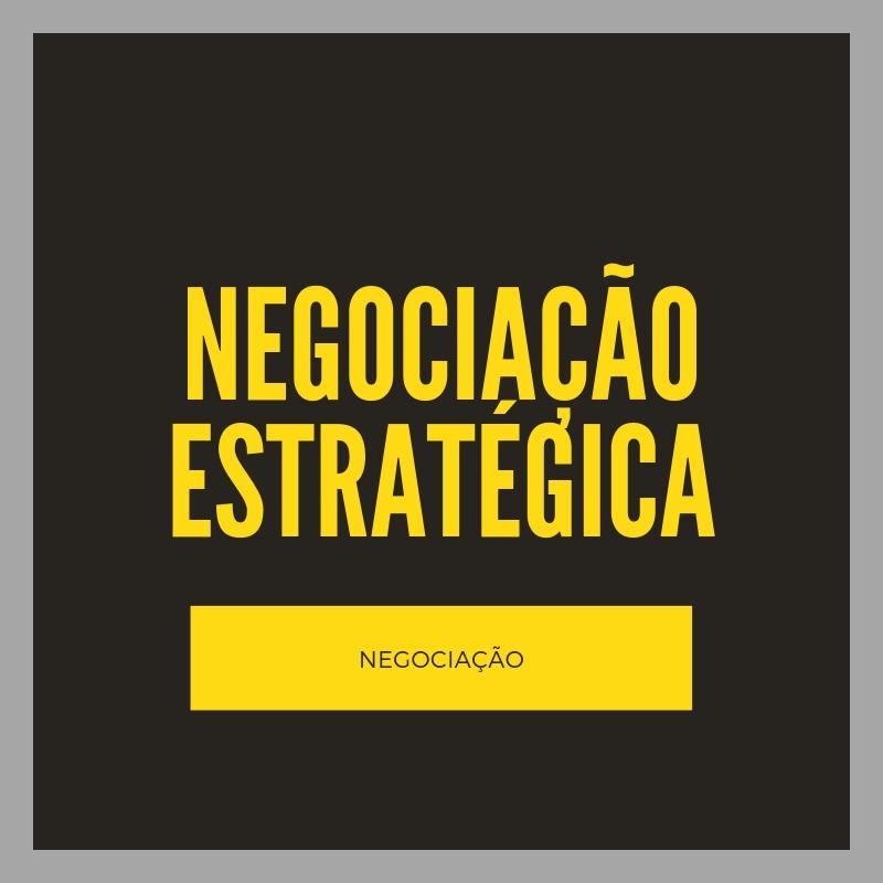 Negociação Estratégica - Clique na imagem ao lado e baixe folder com detalhes.