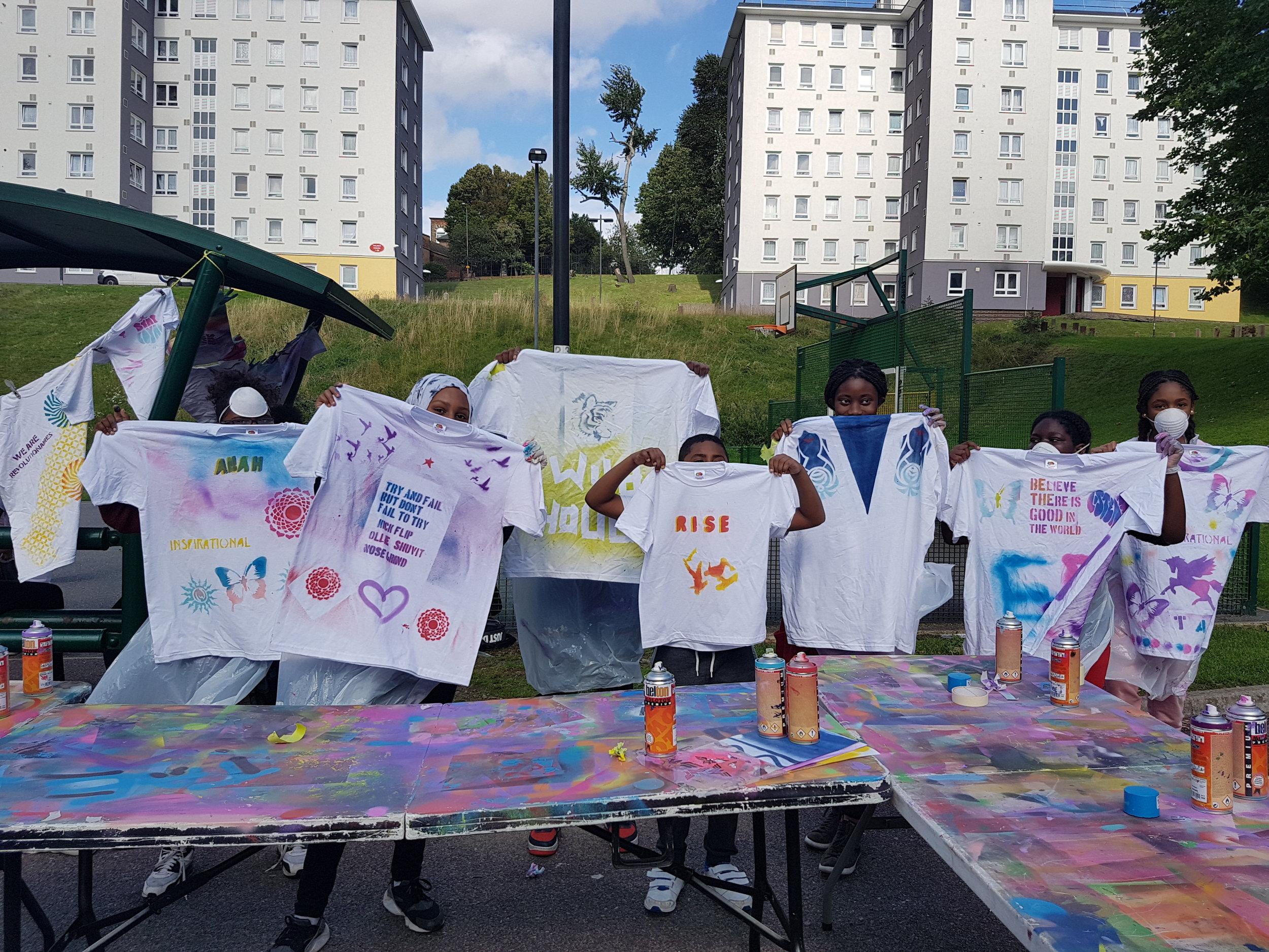 Graffiti T-Shirt workshop