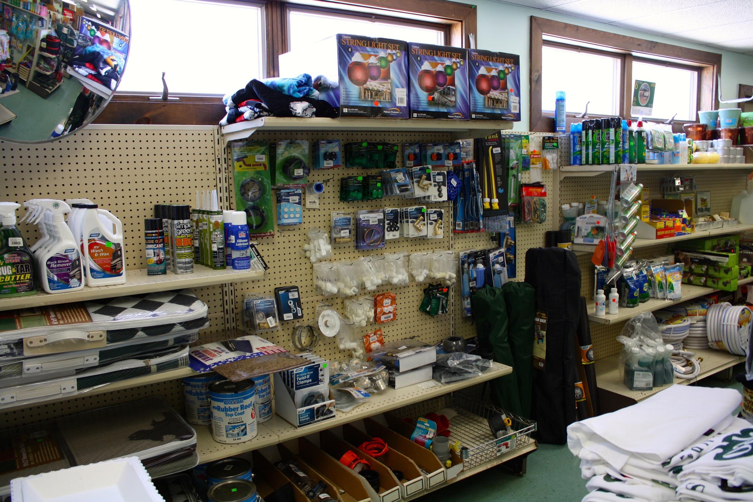 rv parts and camping supplies