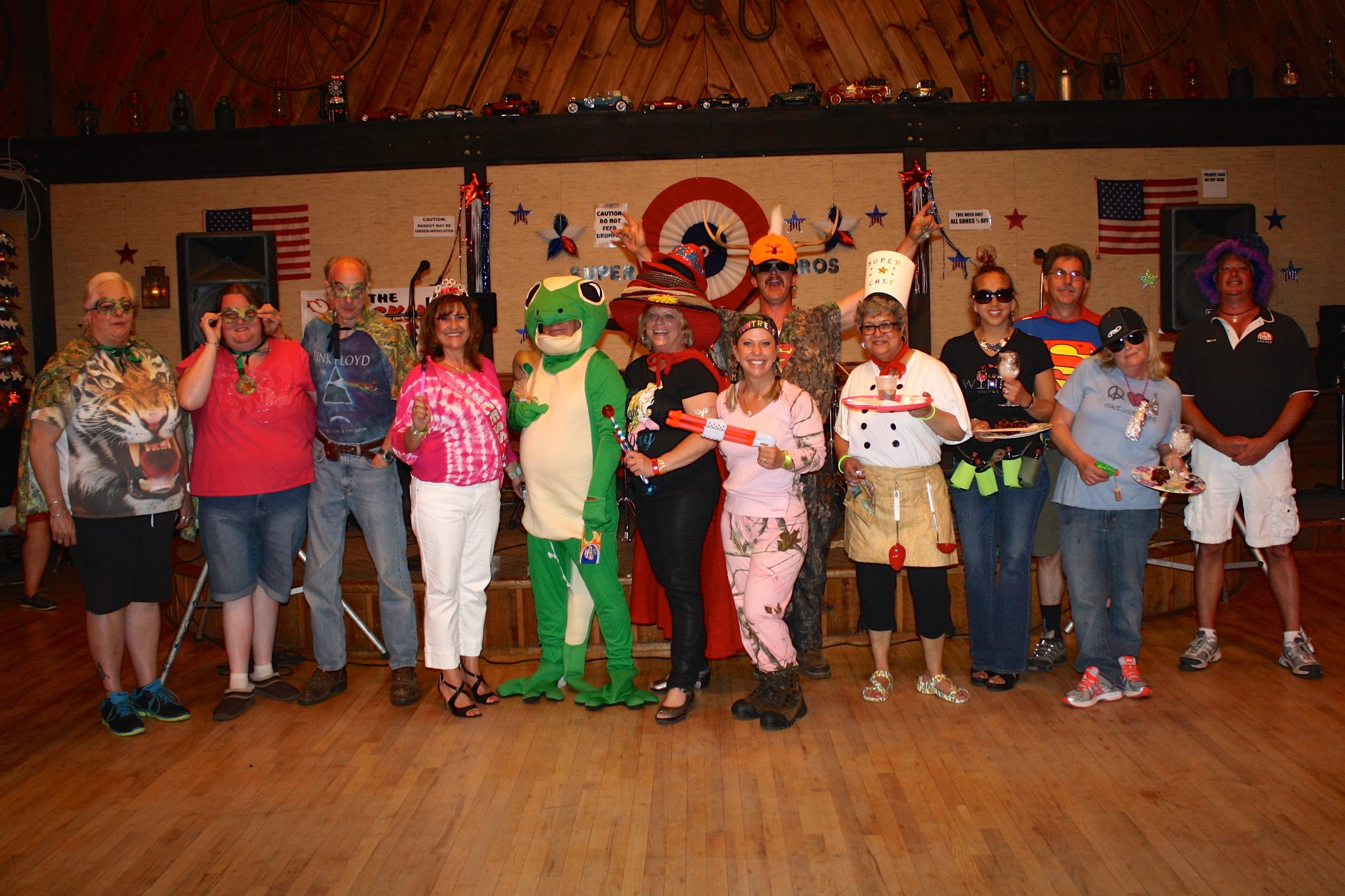 themed activities for adults like the costume contest
