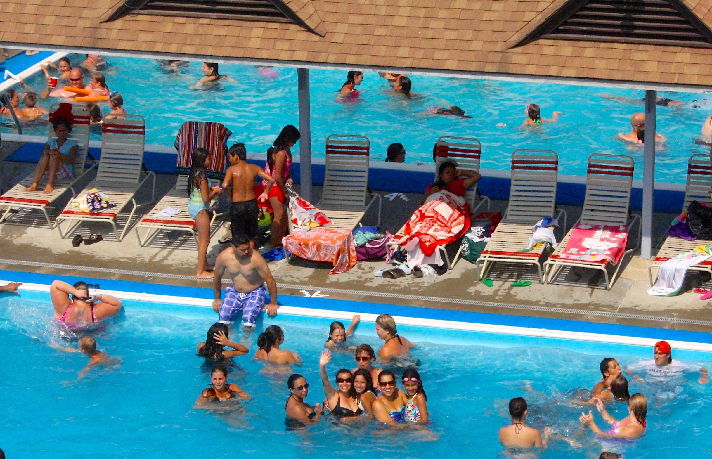 pool is open seven days a week