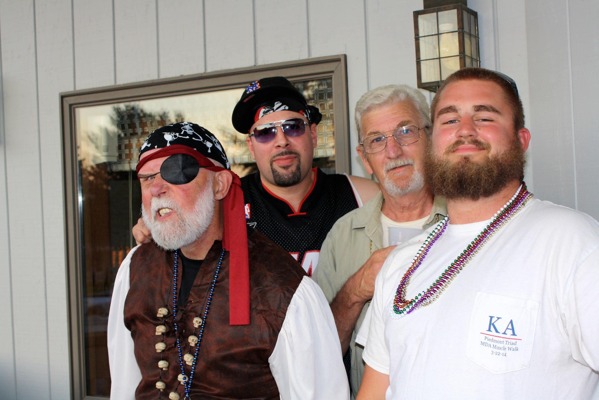 pirate pool party DJs