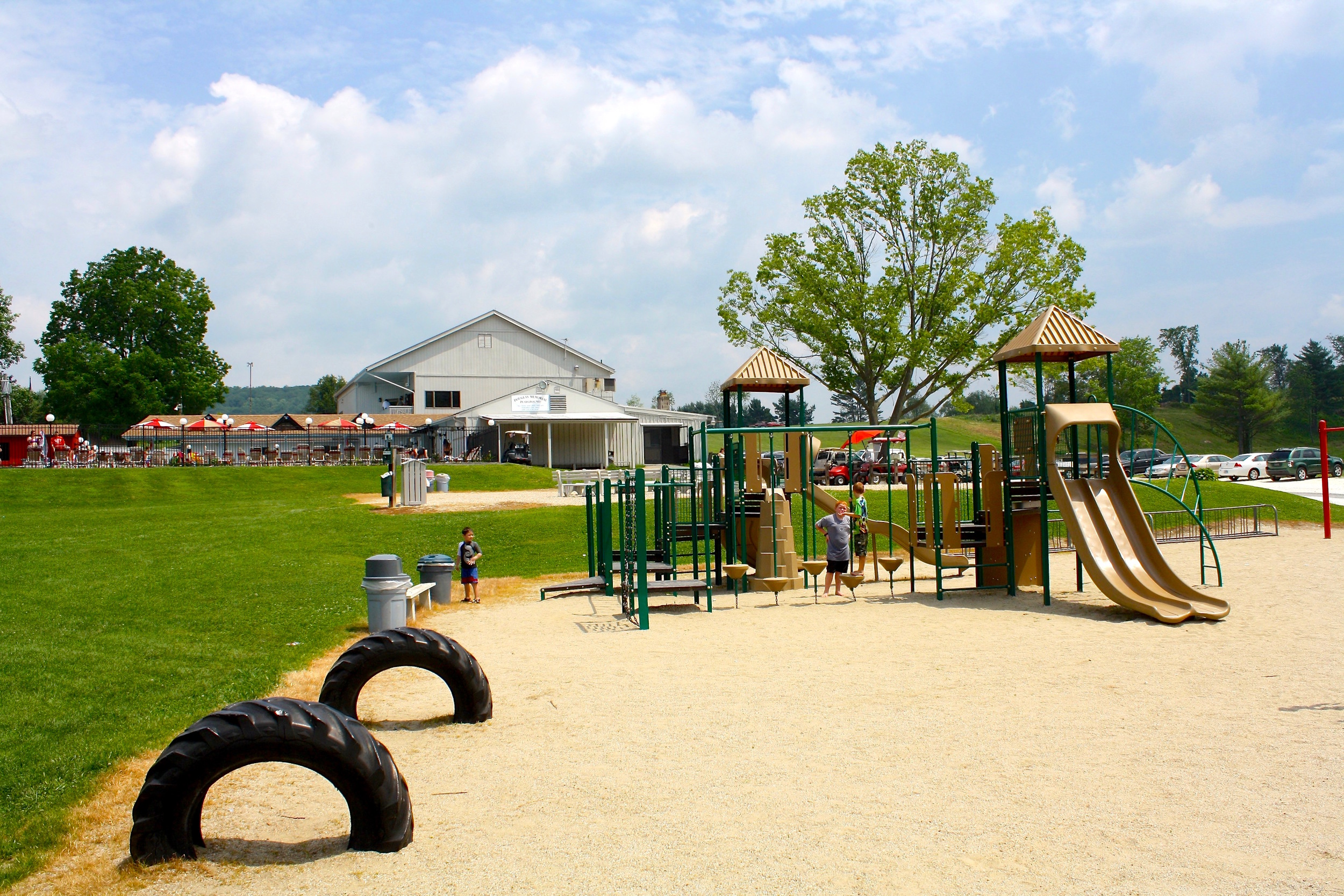 playground is open to all ages