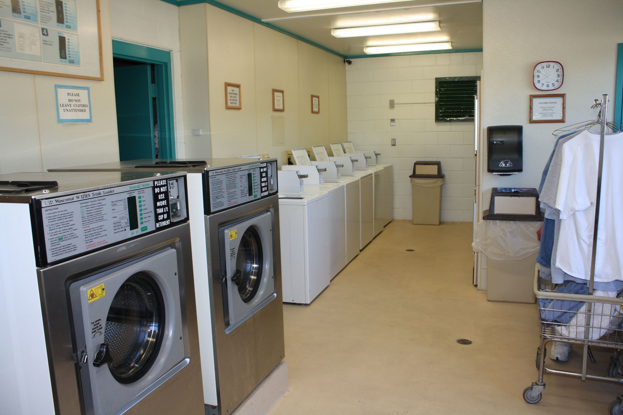 field laundry room