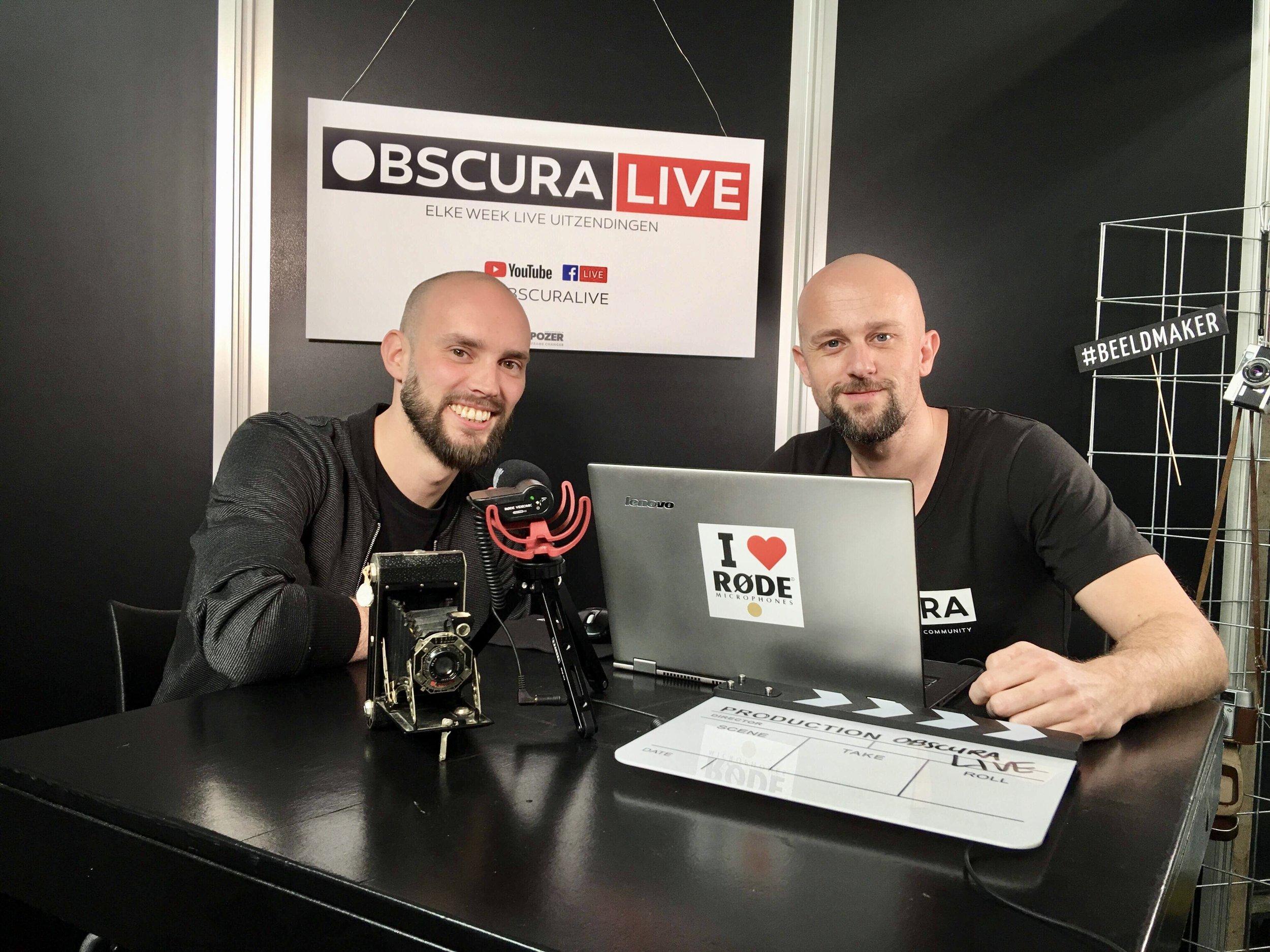 Interview bij Cafe Obscura op Professional Imaging 2018
