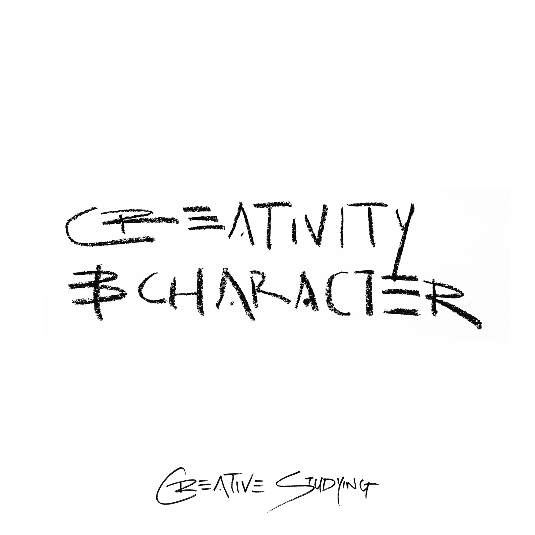 Creativity and character. The two things schools need to encourage in its students is creativity and character.