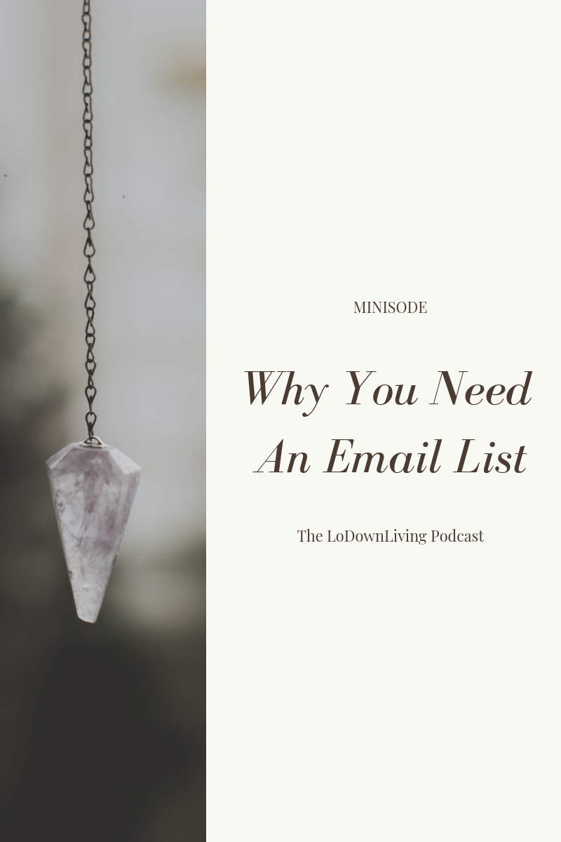 Why You Need An Email List_The LoDownLiving.png