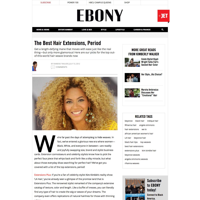 Ebony Logo