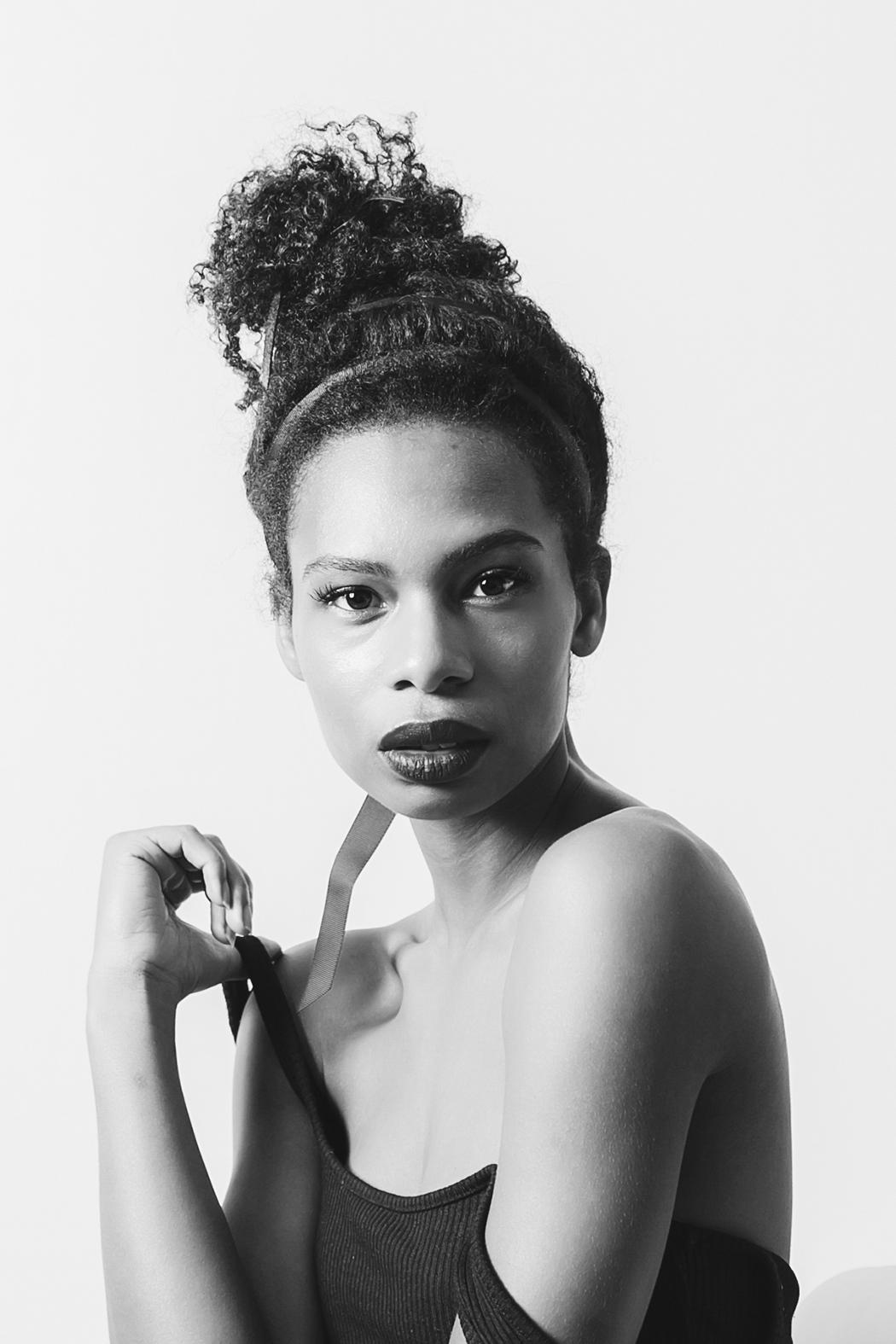 Photography Jennifer Coffey, Model Kirsten Luiz , Hair Maritza Buelvas for Xtava.com
