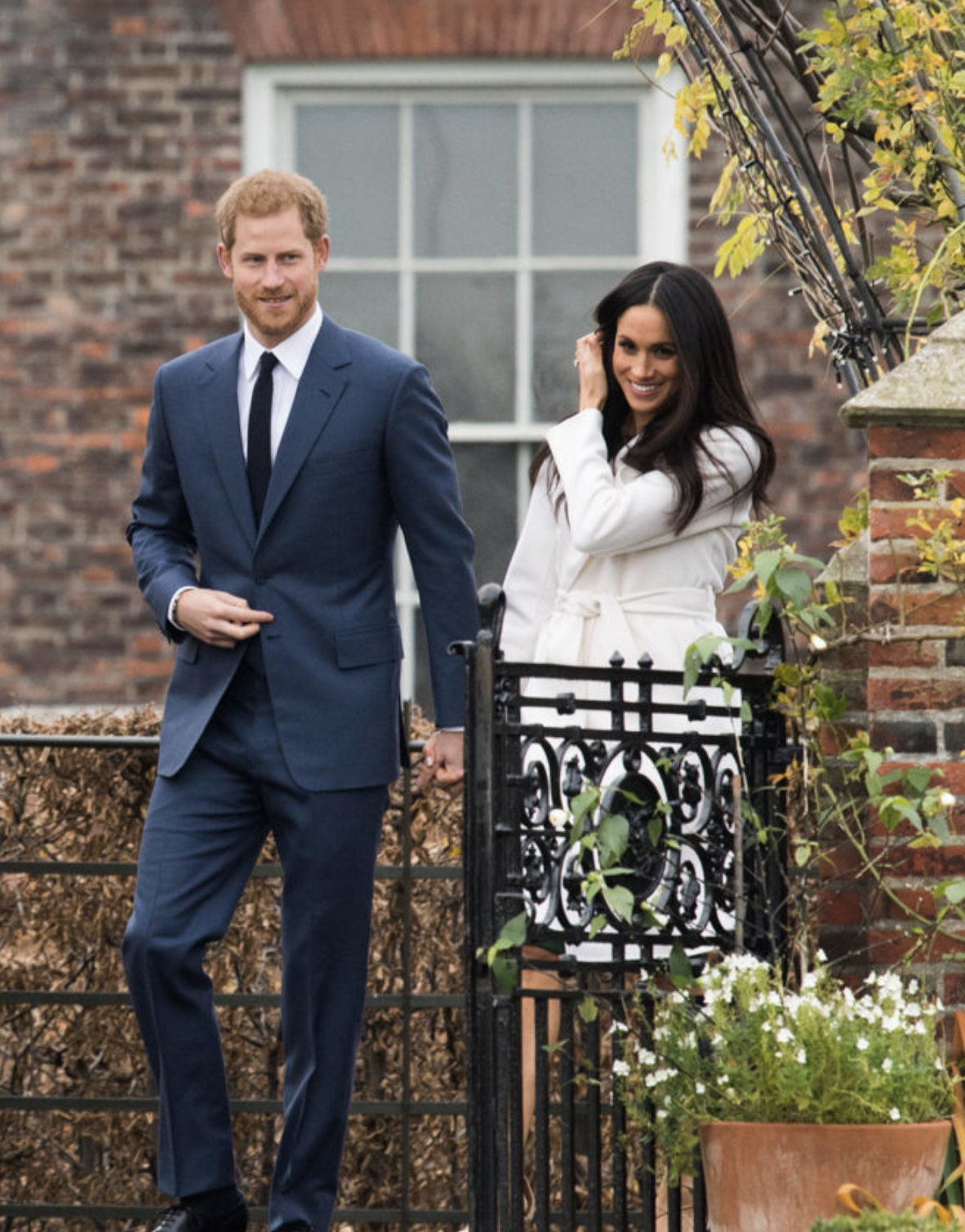 Meghan during her first official royal engagement with Prince Harry / Getty Images / S ource Good Housekeeping