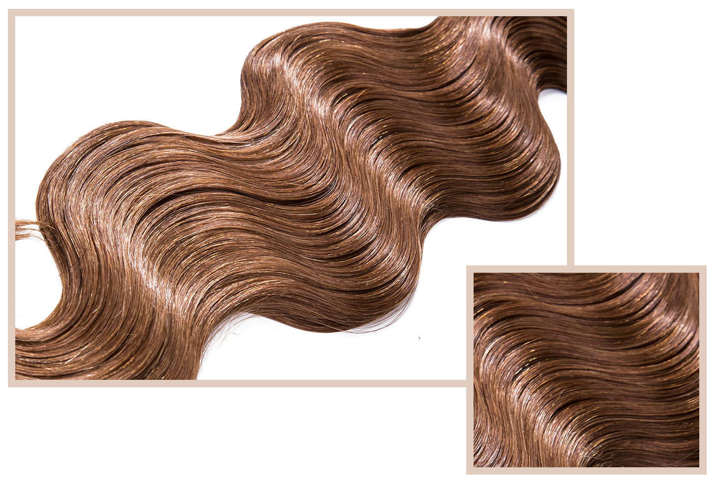 EUROPEAN BODY - Available in Classic CollectionA soft and silky, yet slightly coarse texture with the perfect amount of volume. Wear as-is or heat style into beautiful bouncy curls or straighten for a silky look. The waves will straighten out in time leaving a unique soft touch that's natural looking.