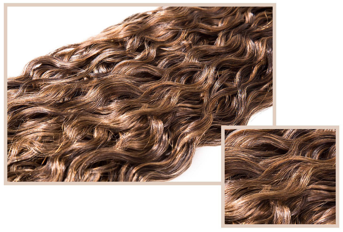FRENCH REFINED - Available in Classic, LuxeIrresistibly soft, spiral curl texture that looks tousled and natural. Also ideal for achieving soft straight styles. French Refined is our most versatile extension.