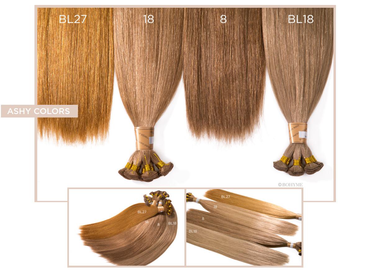 Ashy Colors  BL27, 18, 8, BL18