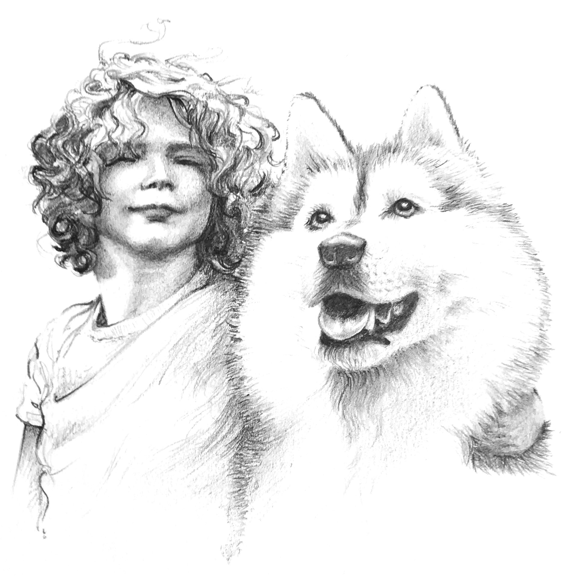 Dorothy & Husky.jpg