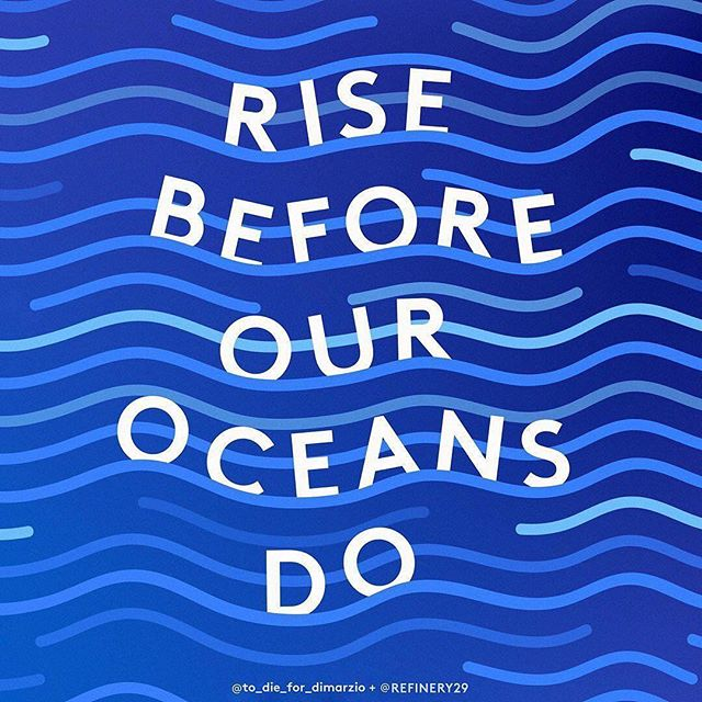 An important message on #worldenvironmentday #riseup #knowtomorrow 🌎  #Repost @refinery29 ・・・ Standing up to protect our environment and raise awareness of the various emerging environmental issues especially today on #WorldEnvironmentDay. 🌊Tap the link in bio to see how you can take action.  cc: @to_die_for_dimarzio