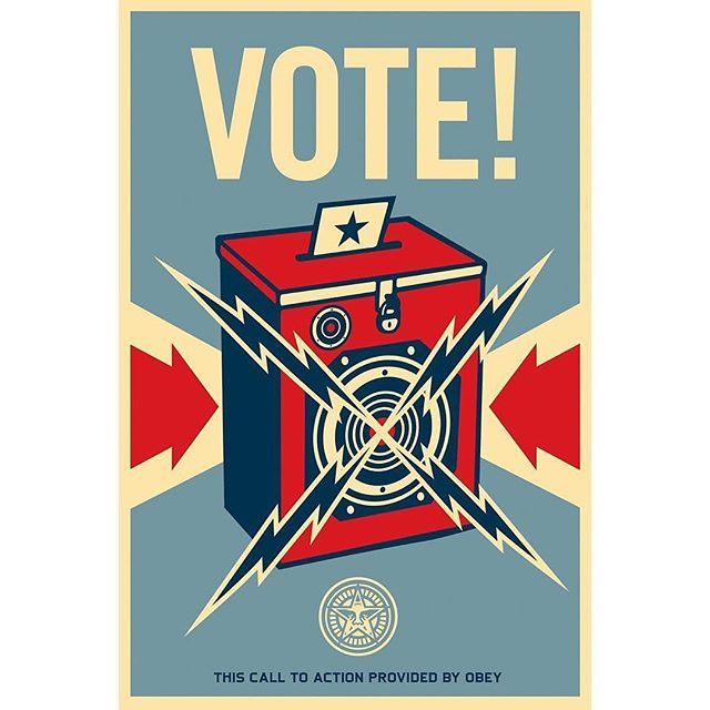#nationalvoterregistrationday  #Repost @obeygiant ・・・ Happy #NationalVoterRegistrationDay! On November 7, we have the chance to elect state and local leaders who will fight for our communities. Take two minutes and register to vote at www.rockthevote.com! #MakeAmericaSmartAgain #MakeYourVoiceHeard
