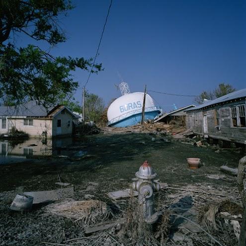 The impact of Hurricane Katrina.