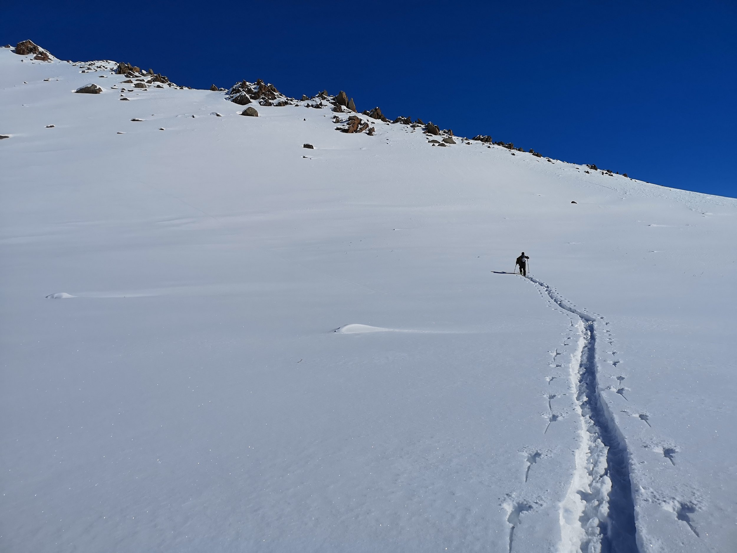 Ski touring is certainly the best way to get away from it all