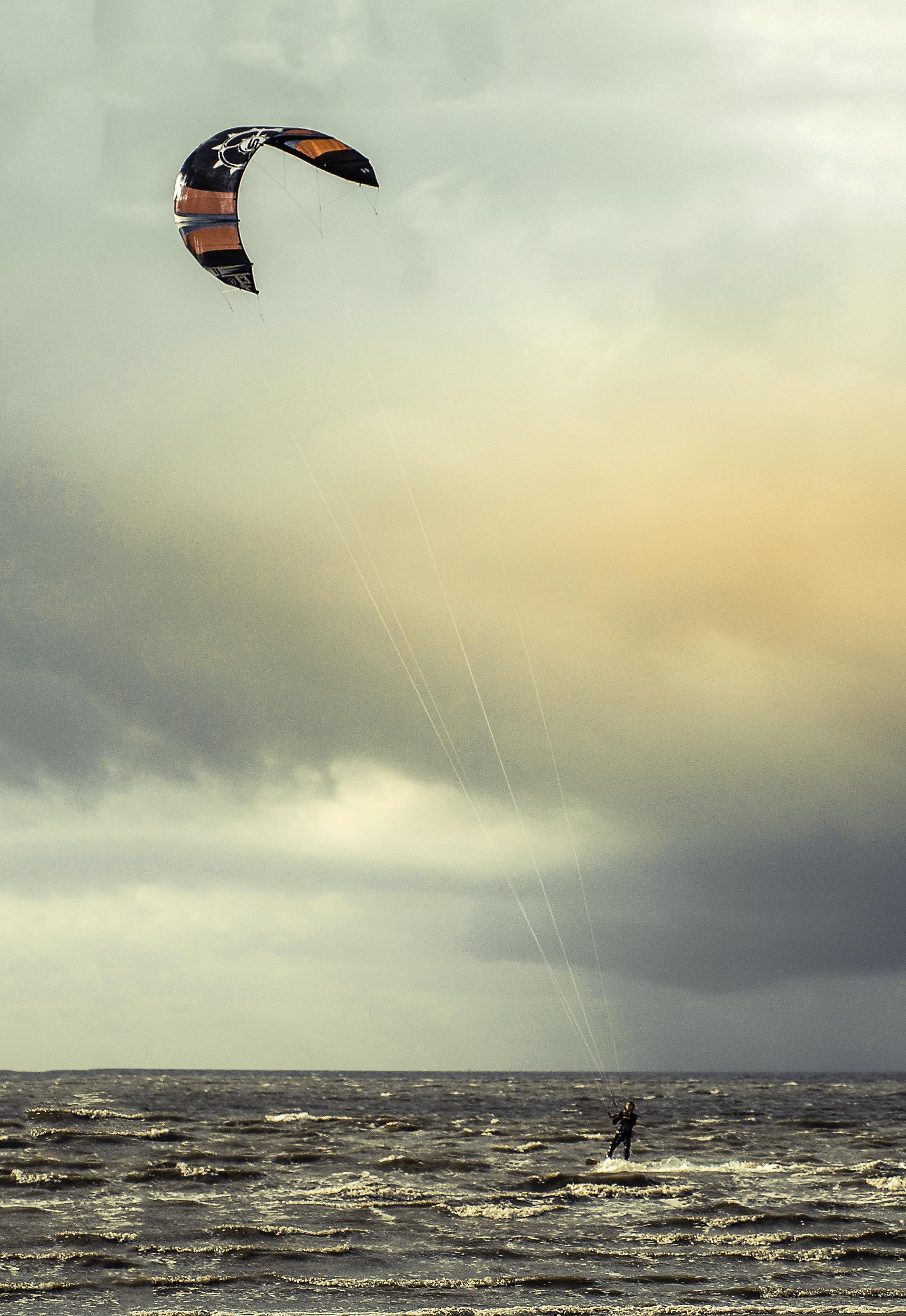 Kitesurfing Harlingen