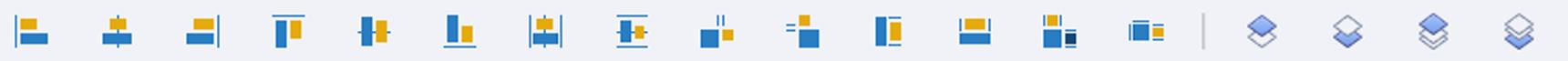 The Adobe Captivate Alignment Toolbar